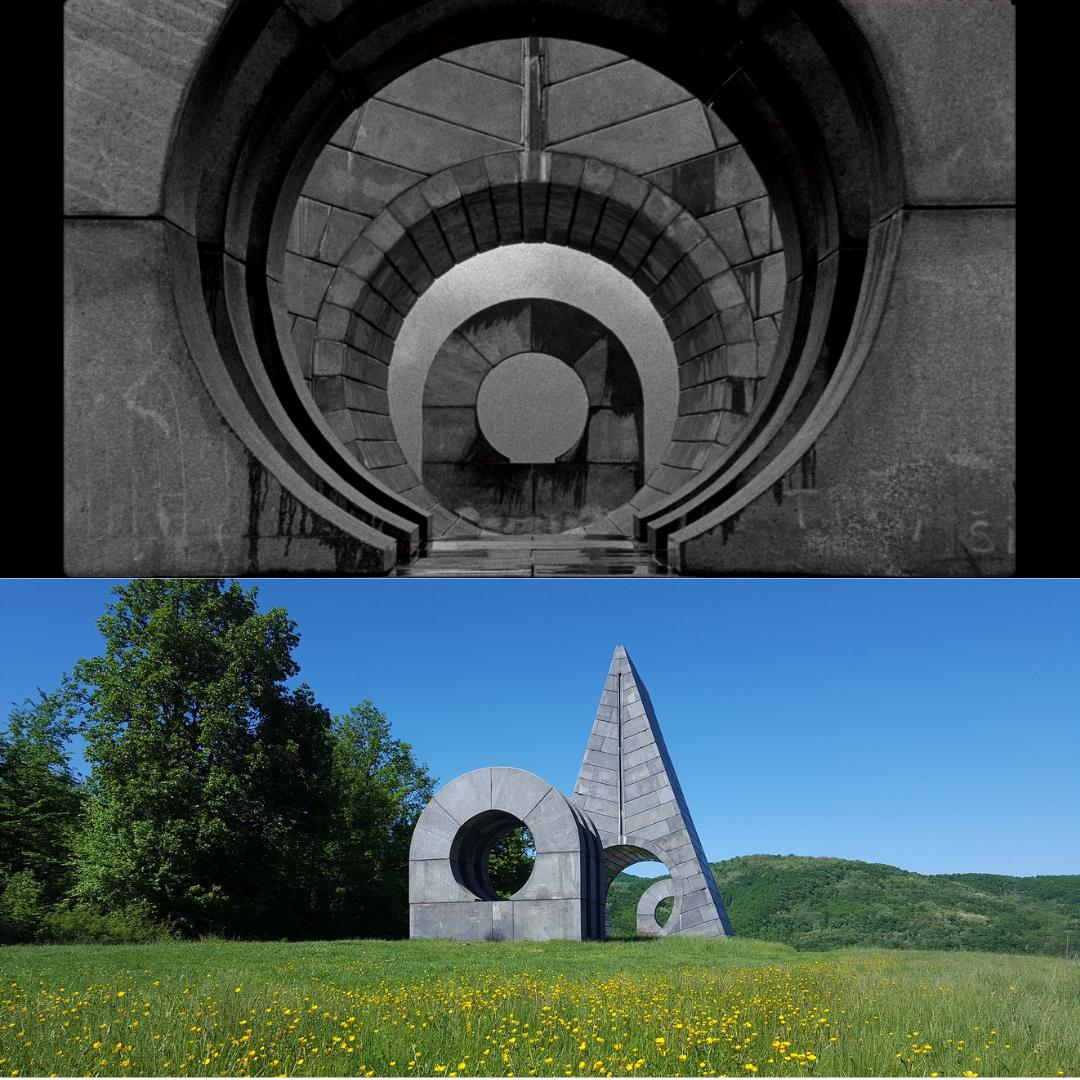 spomenik in Popina