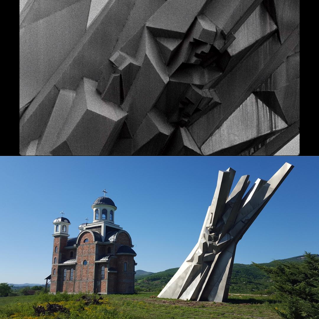 Spomenik in Ostra