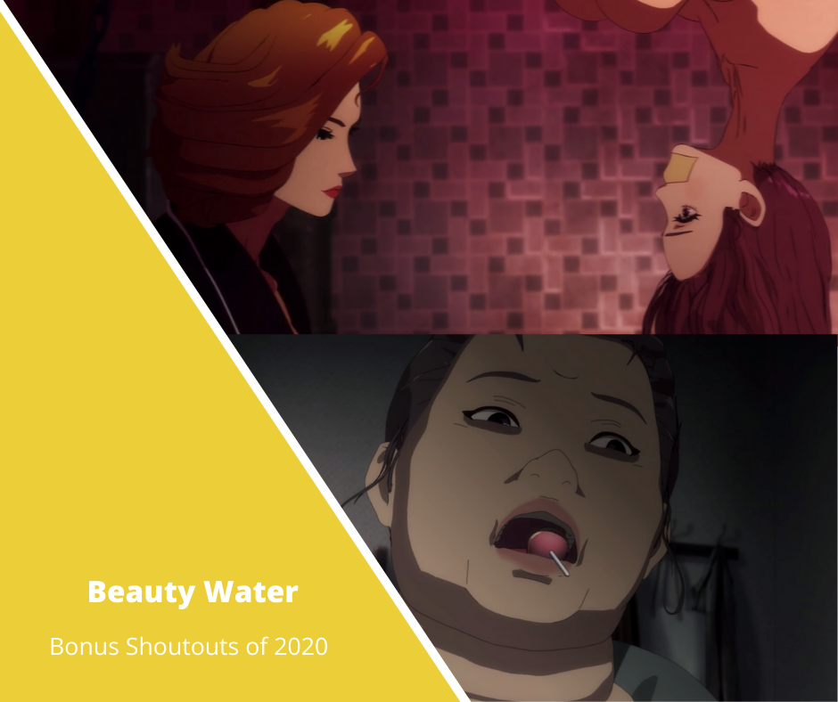 korean anime beauty water