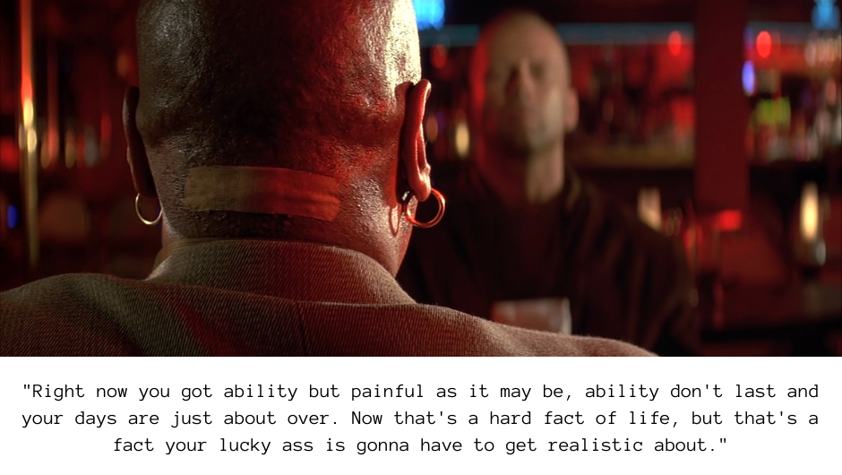 Marsellus Wallace quote from Pulp Fiction