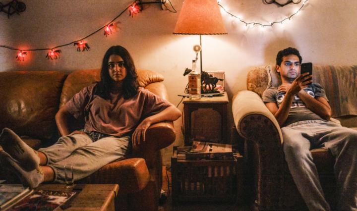 Karan Soni and Geraldine Viswanathan in 7 Days
