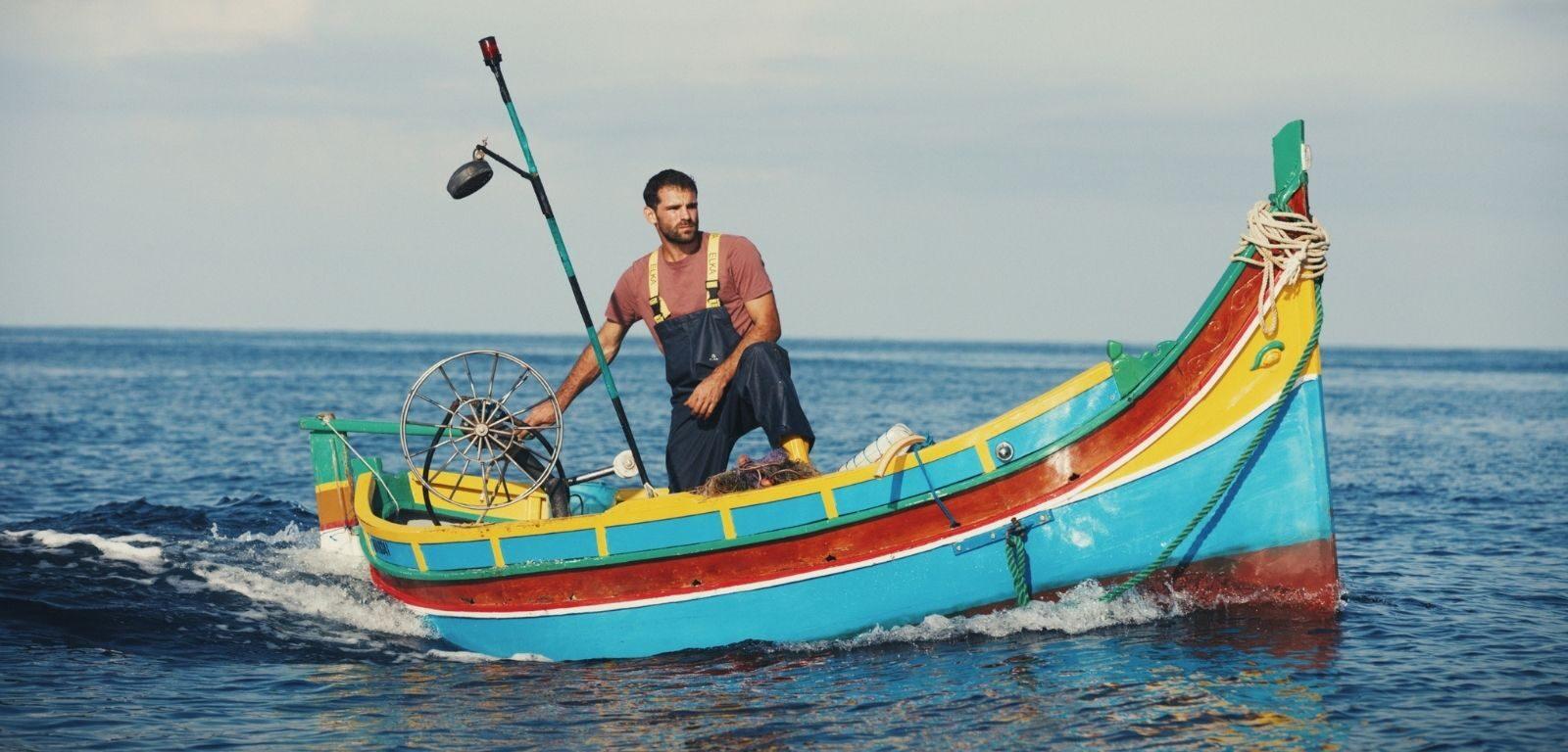 Fisherman Jesmark Scicluna in Luzzu 2021 - an Alex Camillieri film